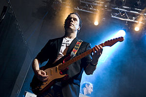 English: Daniel Cavanagh (Anathema guitarist) ...