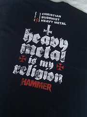 Metal Desciple / Heavy Metal Is My Religion (back)