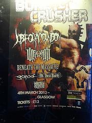 Bonecrusher Fest poster