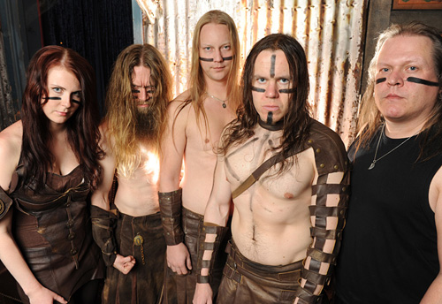 Ensiferum [image courtesy Metal Blade]