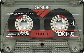 Denon DX1/90 cassette tape