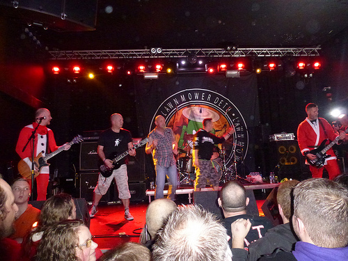 Lawnmower Deth / Xentrix / Re-Animator / Line of Fire – Nottingham Rescue Rooms