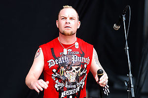 English: Ivan Moody of Five Finger Death Punch...