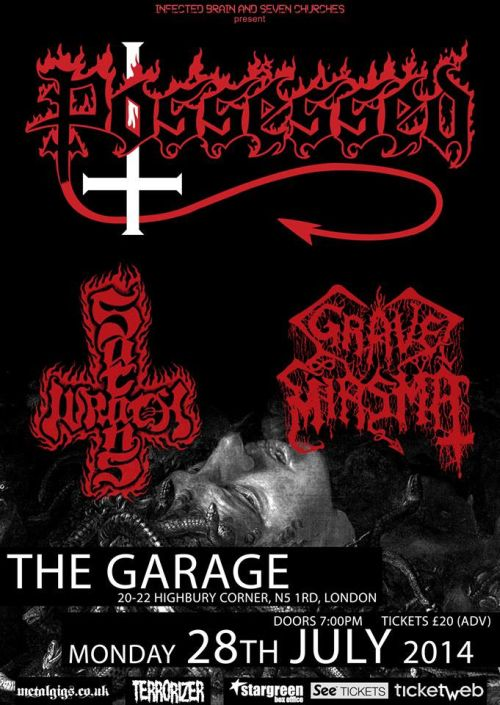 Satan's Wrath play first ever live show