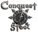 Conquest of Steel logo