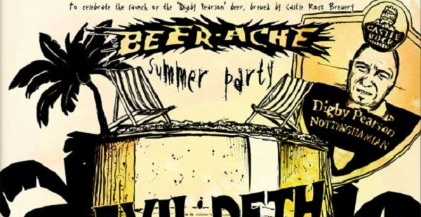 Earache Records announce summer 'Beerache' party