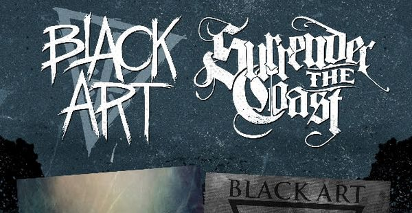 Black Art & Surrender The Coast to release split record