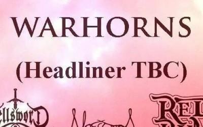 Warhorns Festival 2015 banner