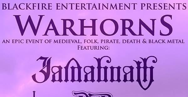 Warhorns lineup completed, headliners confirmed