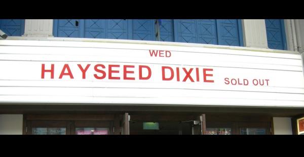 Hayseed Dixie – Glasgow Garage, 2nd November 2016