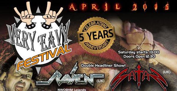 Very 'Eavy Festival 2015