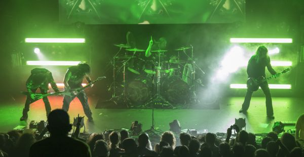 Review-Two: Kreator / Arch Enemy / Shining + Marty Friedman – Glasgow QMU