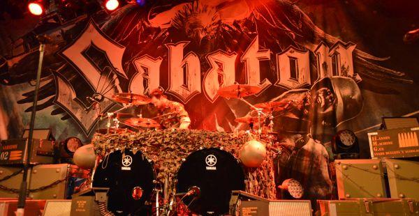 Review 2: Sabaton / Korpiklaani / Tyr – Glasgow QMU