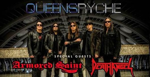 Death Angel touring UK (erm – England) with Queensryche and Armored Saint