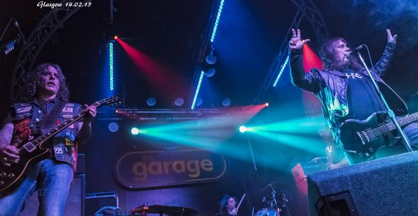Monster Magnet / Bombus / MetalTech – The Garage, Glasgow (14th Feb, 2015)