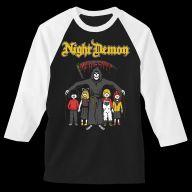 Night Demon charity shirt