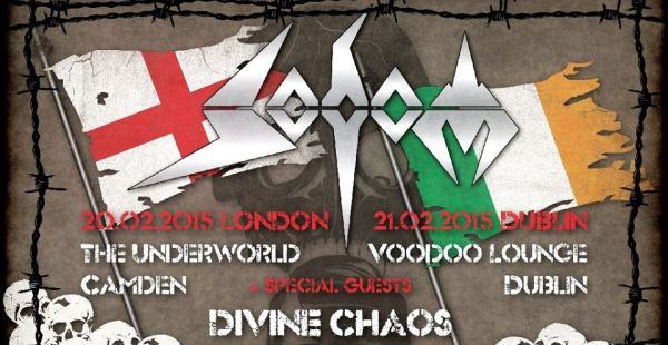 Sodom/Divine Chaos – Camden Underworld, London (20th Feb 2015)