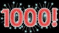 1000 sparkles
