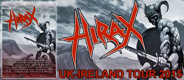 Hirax/Circle of Tyrants/Evil Blood – Ivory Blacks, Glasgow (14th March 2015)