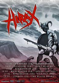 Hirax UK Tour Poster 2015 192