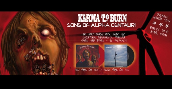 Sons of Alpha Centauri / Karma To Burn release third split single