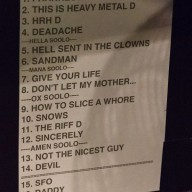Setlist - click for full size