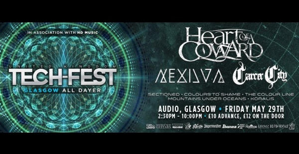 Tech-Fest All-Dayer… coming to Audio, Glasgow in May!