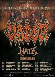 Vader 2015 European tour poster 192