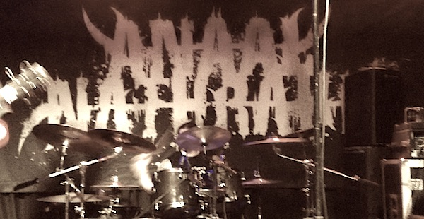 Anaal Nathrakh/Man Must Die/Scordatura/Exile The Traitor- Audio Glasgow (15/04/15)