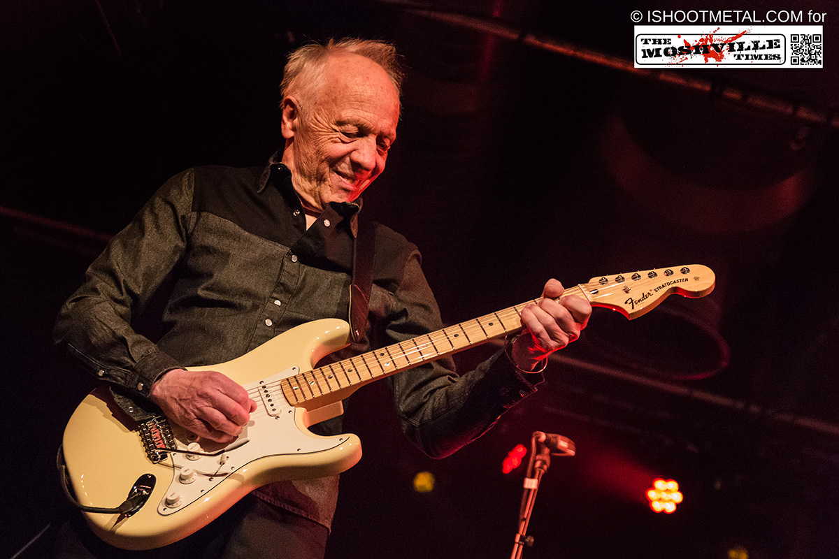 Robin Trower / Joanne Shaw Taylor – The Arches, Glasgow (04th April 2015)