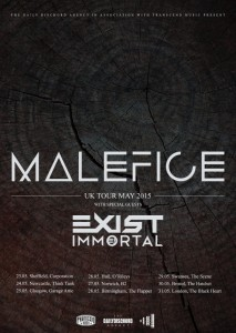 Malefice tour 2015