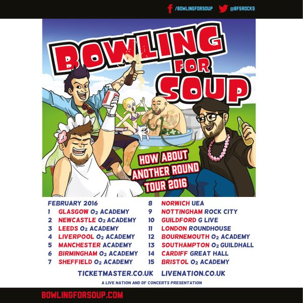 Bowling For Soup – more on those upcoming UK tour dates – The ...