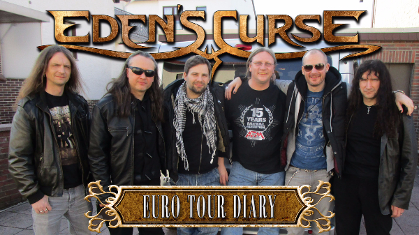 Eden's Curse release German & Dutch Tour Diary video