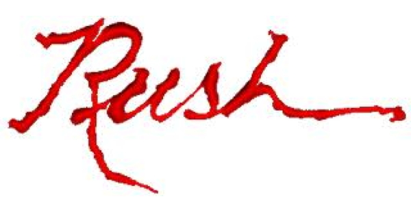 Rush Logo from Hemispheres album