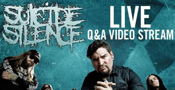 Suicide Silence to do live online Q&A this Friday
