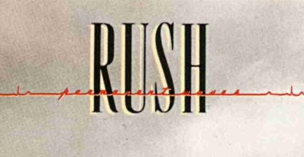 Rush Logo from Permanent Waves album