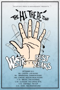Best Years UK Tour 2015