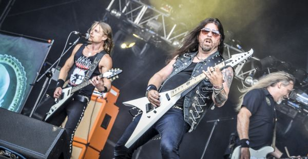 Bloodstock 2015 Interview- Anders Modd and Richard Holmgren of Wolf (SWE)