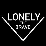 Lonely the Brave logo