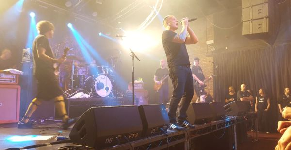 Ugly Kid Joe / Hailmary / Richards/Crane – Glasgow Garage, 17th September 2015
