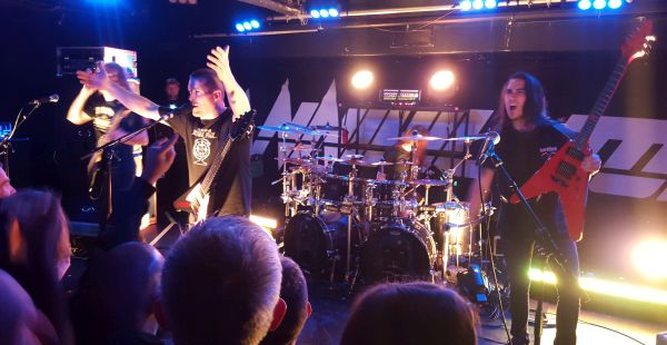 Annihilator / Archer / Harlott – Glasgow O2 ABC2, 2nd October 2015