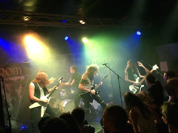 Wolf/Enforcer/Dynamite- Audio, Glasgow 11th October 2015