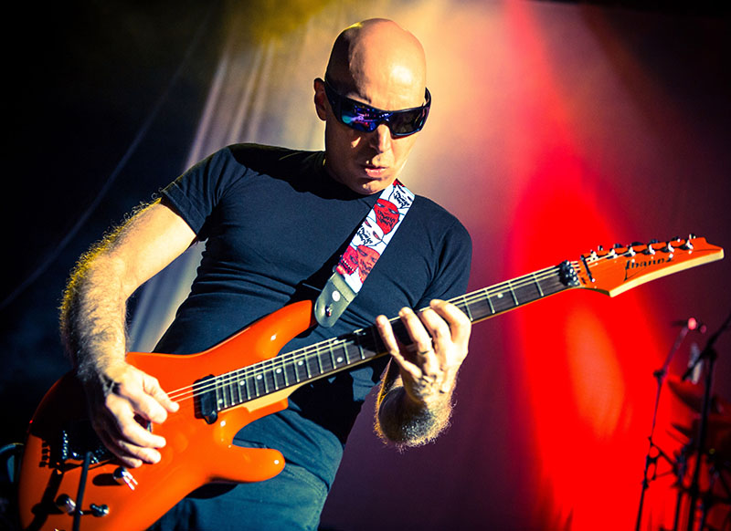 Joe Satriani touring the UK in November with support from Dan Patlansky