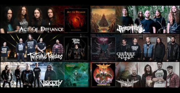 Metal Blade – 6 Bands in 60 Seconds