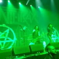 Anthrax Glasgow Academy 2015