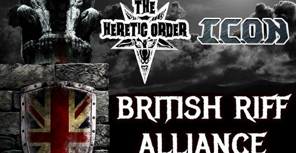 I.C.O.N and The Heretic Order announce co-headline tour for February 2016