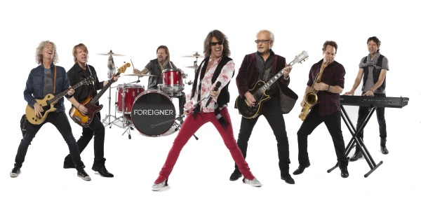 Foreigner begin European/Israeli tour in London