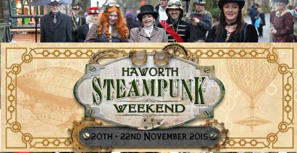 Rock Bottom Risers / Marshall Gill (New Model Army) / The Crowman (Steam Punk Weekend Haworth) – 21st November 2015
