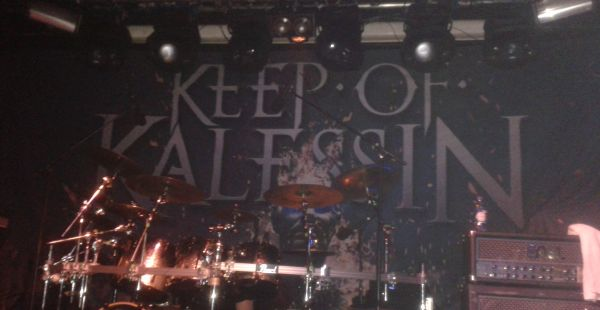 Keep of Kalessin / Vreid / Vredehammer / Scutum Crux – Garage, London (9th November 2015)