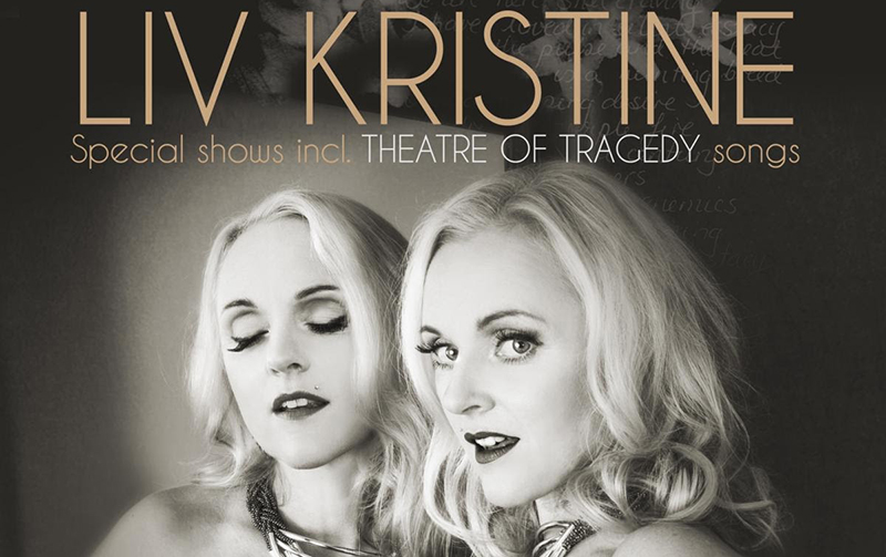Liv Kristine to play a one-off UK show at The Underworld, London 20th December 2015